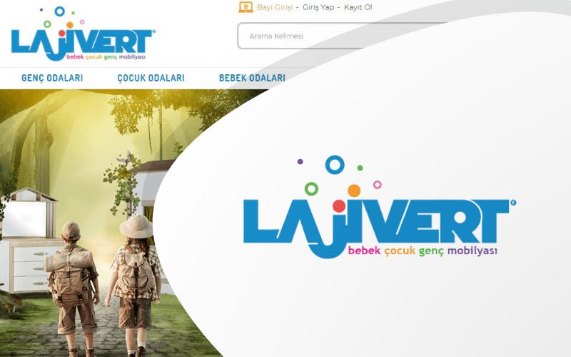 Lajivert Mobilya E-ticaret Sitesi