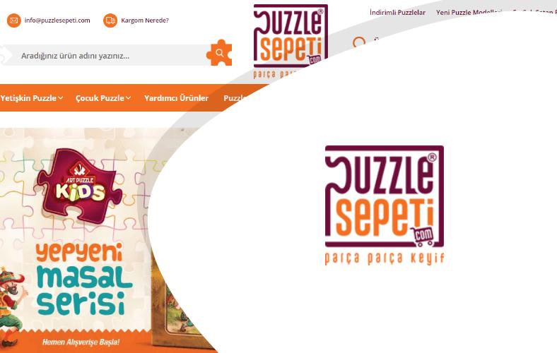 Puzzle Sepeti E-ticaret Sitesi