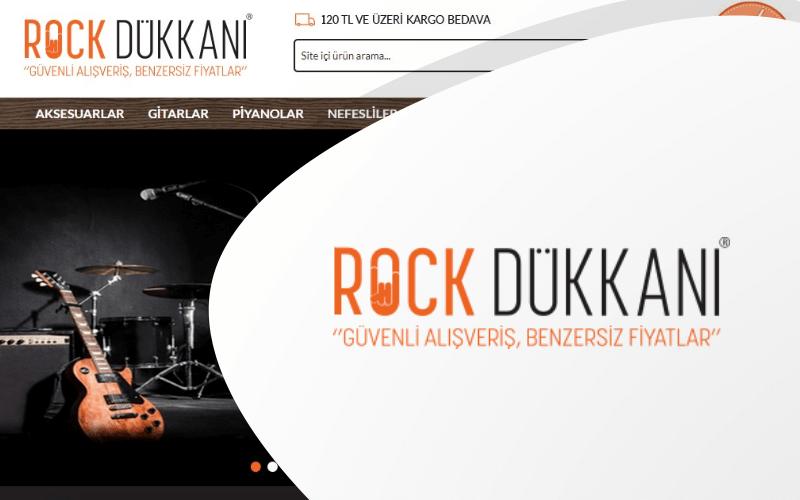 Rock Dükkanı E-ticaret Sitesi