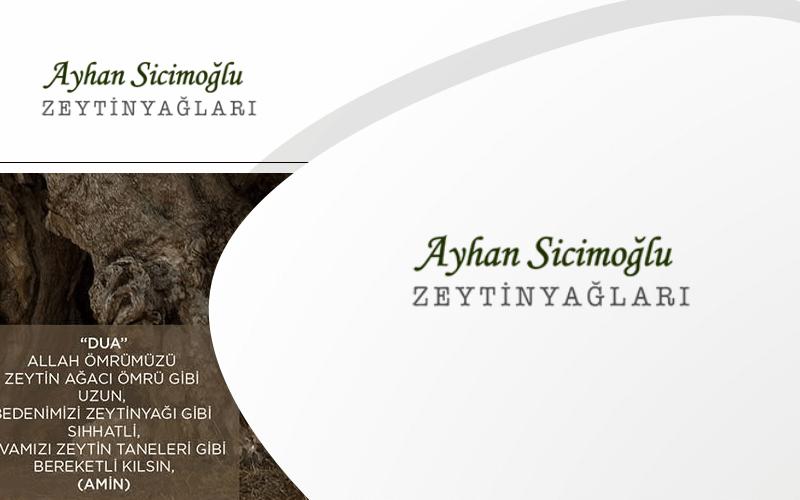 Ayhan Sicimoğlu E-ticaret Sitesi