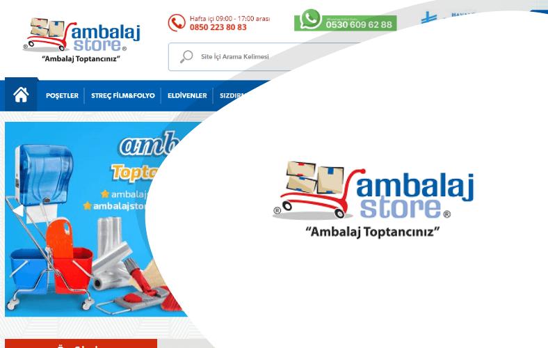 Ambalaj Store E-ticaret Sitesi