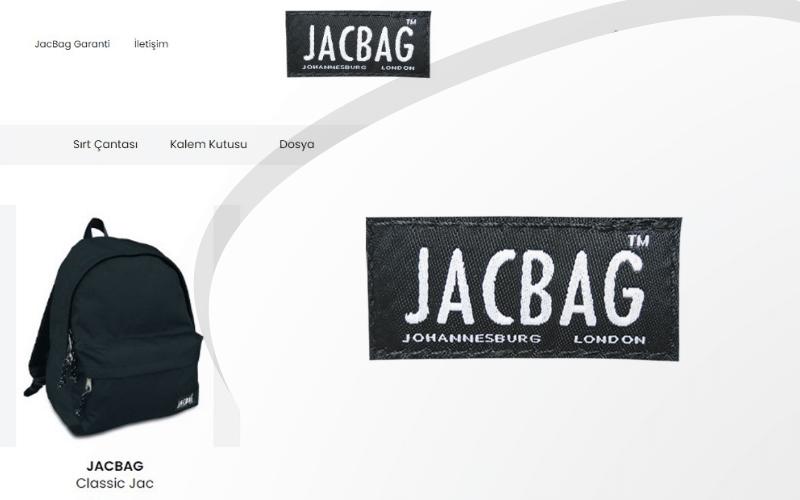 Jacbag E-ticaret Sitesi