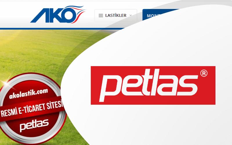 Petlas – Ako Lastik E-ticaret Sitesi