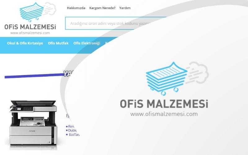 Ofis Malzemesi E-ticaret Sitesi
