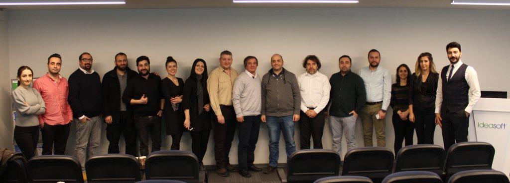 2019'un ilk bayi toplantısı IdeaSoft Genel Merkezi'nde gerçekleştirildi