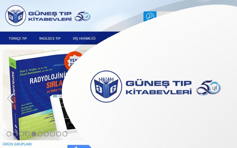 Güneş Kitabevi E-ticaret Sitesi
