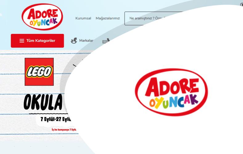 Adore Oyuncak E-ticaret Sitesi