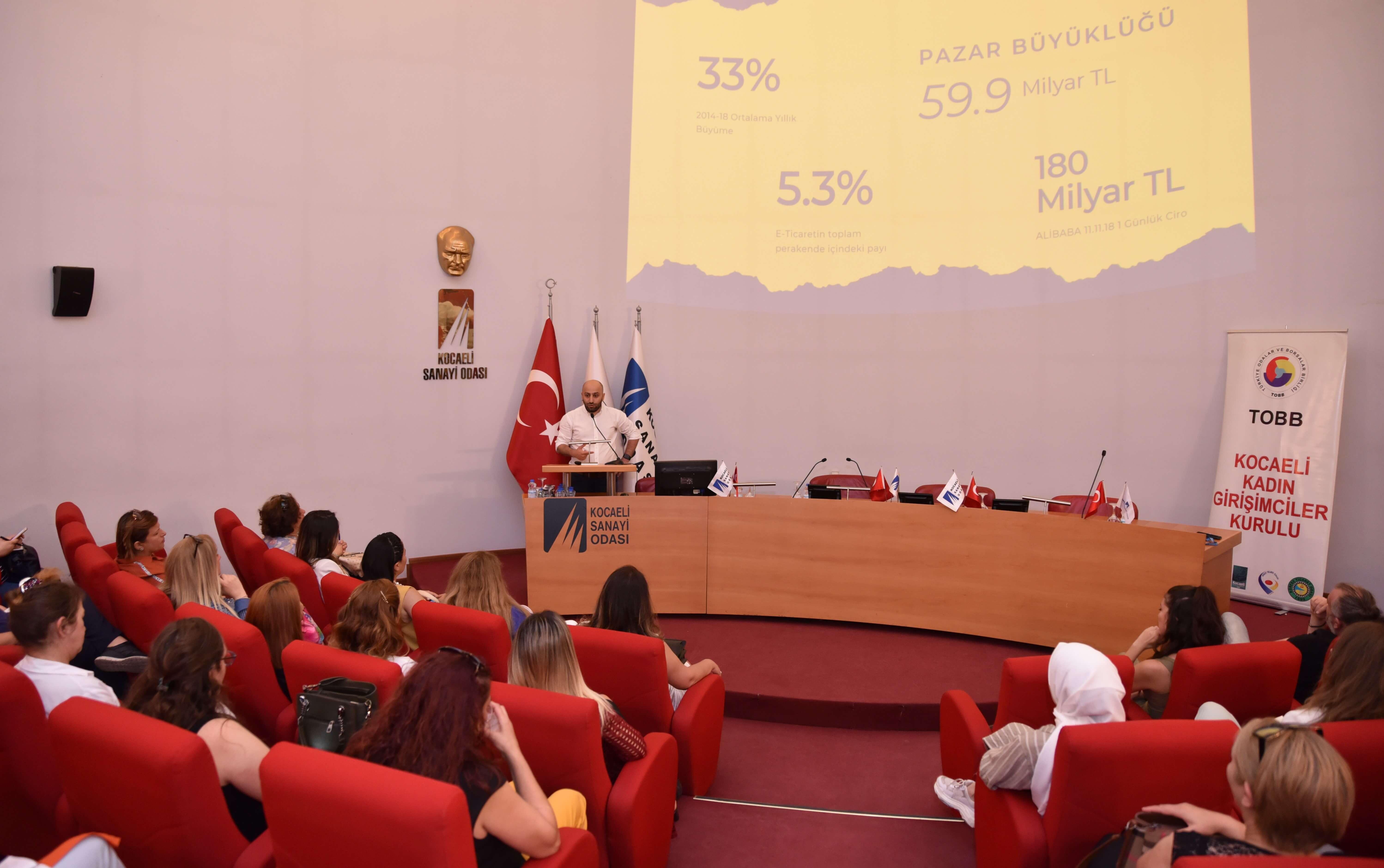 TOBB Kocaeli Kadın Girişimciler Kurulu'ndan E-ticaret Kadınları Projesine Büyük İlgi