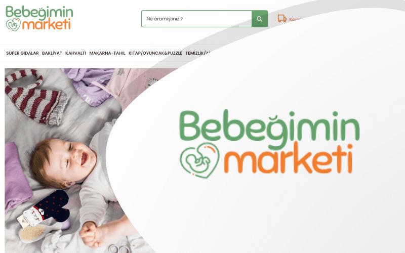 Bebeğimin Marketi E-ticaret Sitesi