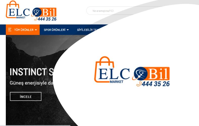 Elcobil Market E-ticaret Sitesi
