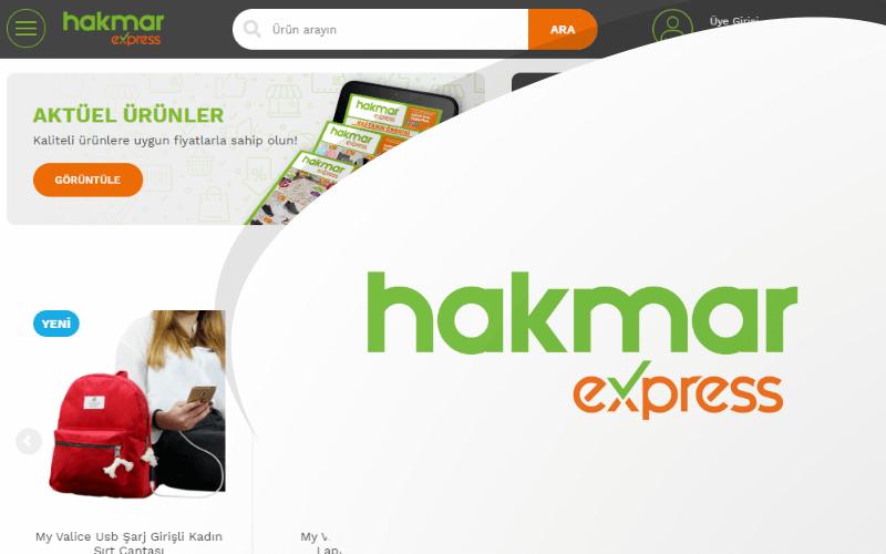 Hakmar Express E-ticaret Sitesi