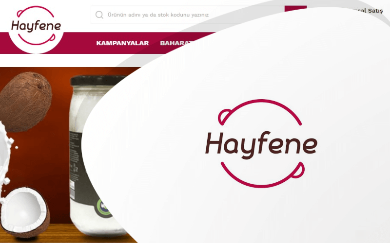 Hayfene Baharat E-ticaret Sitesi