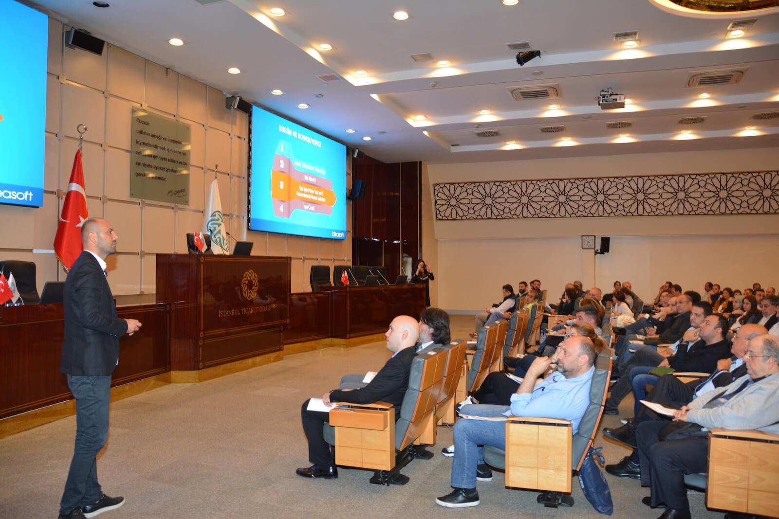 IdeaSoft İstanbul Ticaret Odası Semineri Eray Cemal Şentürk Konuşma