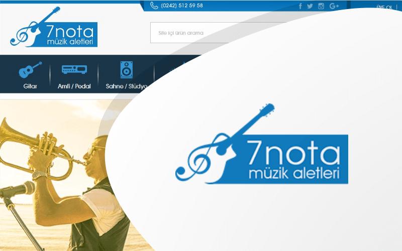 7 Nota E-ticaret Sitesi