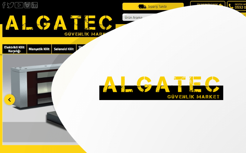 Algatec E-ticaret Sitesi