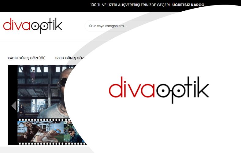 Diva Optik E-ticaret Sitesi