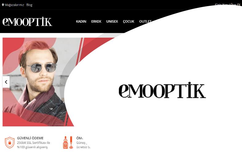 Emo Optik E-ticaret Sitesi