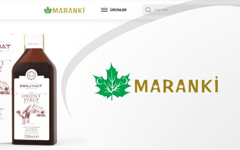 Maranki E-ticaret Sitesi