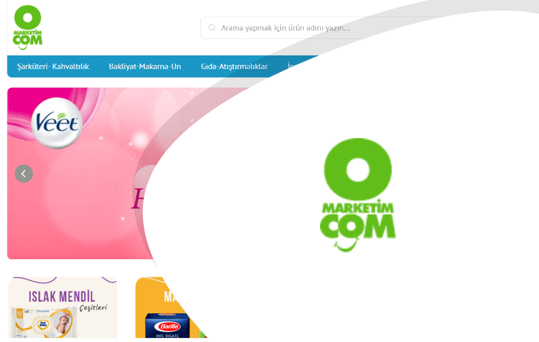 OMARKETİM E-ticaret Sitesi