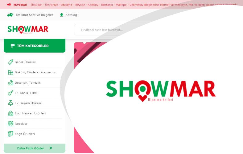 Showmar E-ticaret Sitesi
