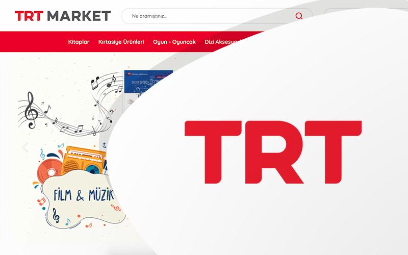 TRT Market E-ticaret Sitesi