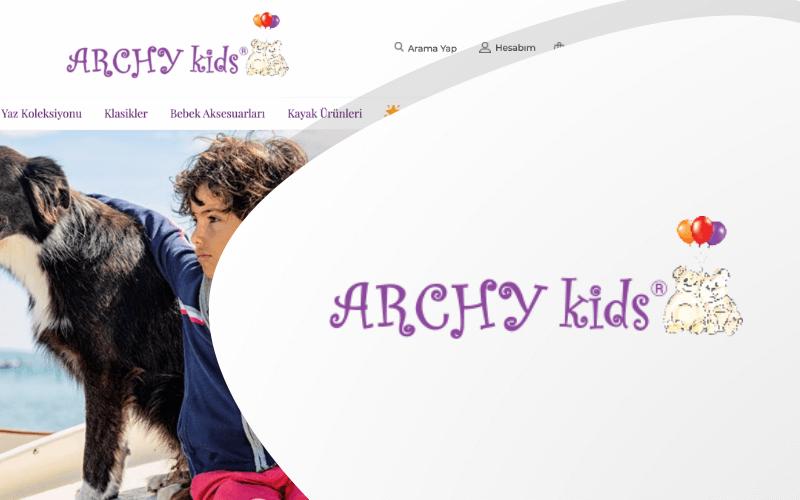 Archy Kids E-ticaret Sitesi