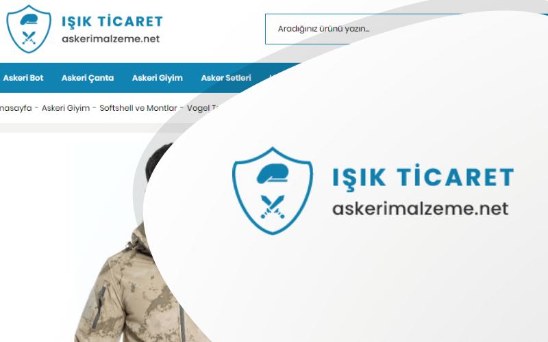 Askeri Malzeme E-ticaret Sitesi