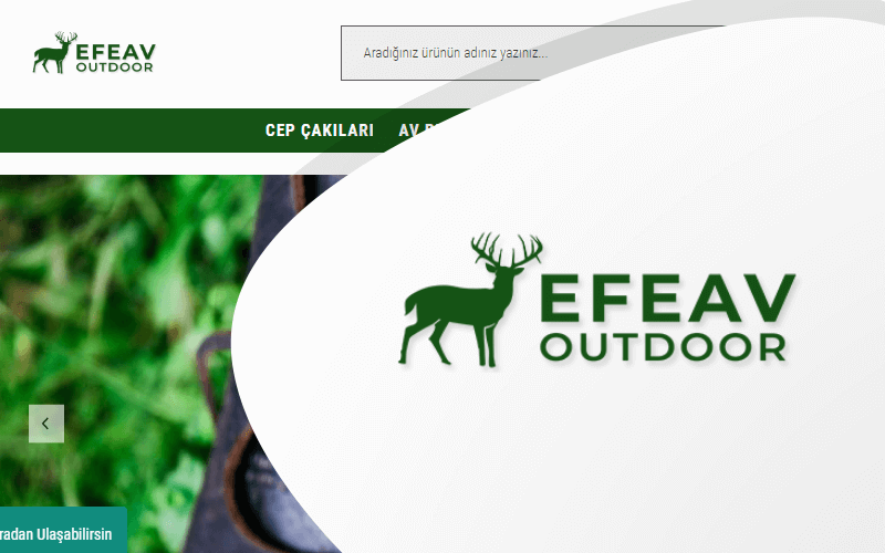 Efe Av E-ticaret Sitesi