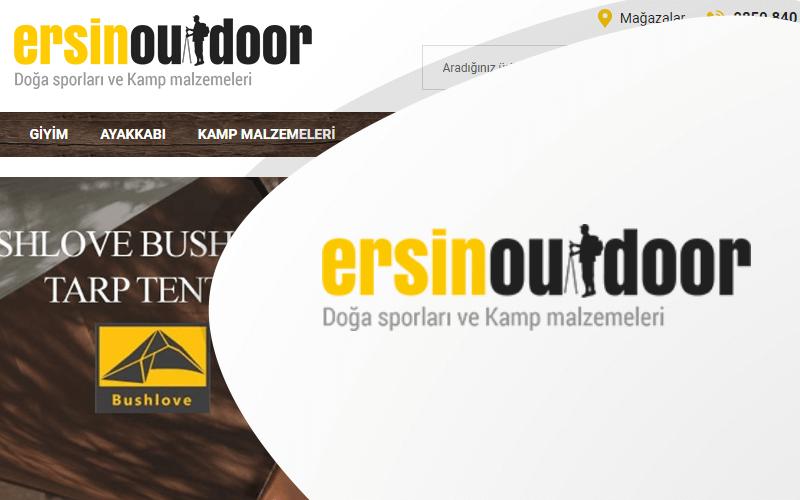 Ersin Outdoor E-ticaret Sitesi
