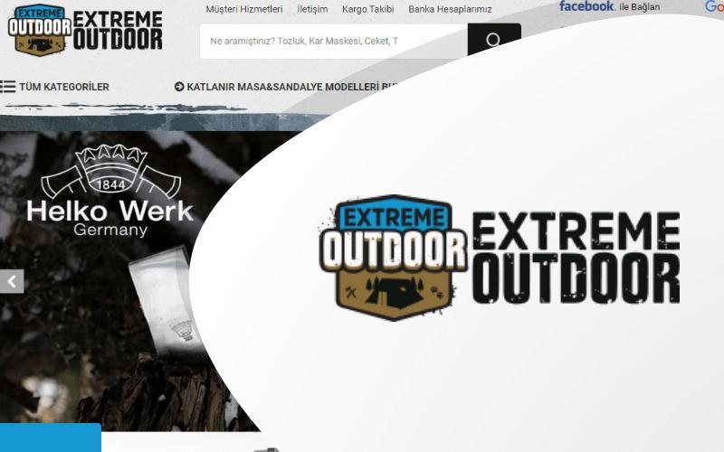 Extreme Outdoor E-ticaret Sitesi