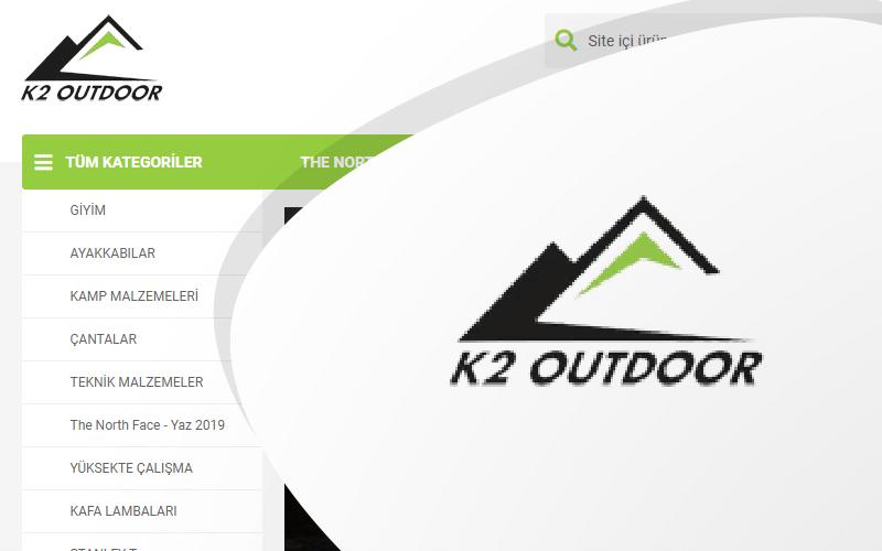 K2 Outdoor E-ticaret Sitesi