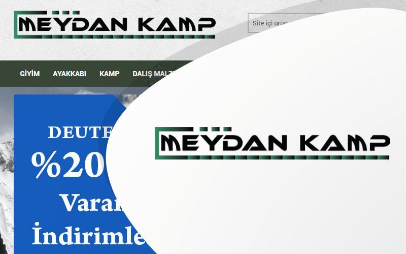 Meydan Kamp E-ticaret Sitesi