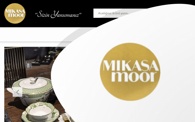 Mikasa Moor E-ticaret Sitesi