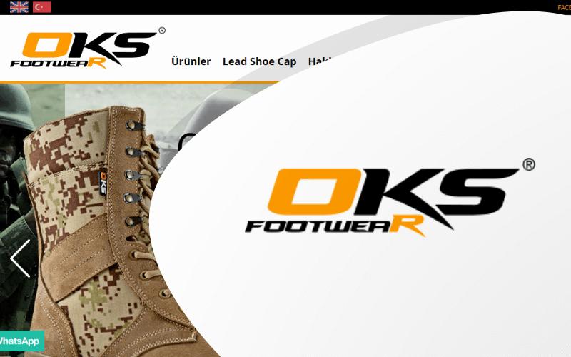 OKS Footwear E-ticaret Sitesi