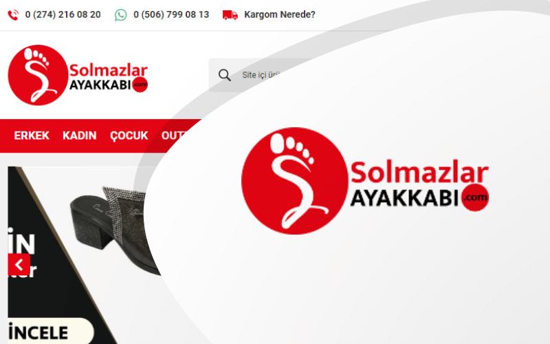 Solmazlar Ayakkabı E-ticaret Sitesi