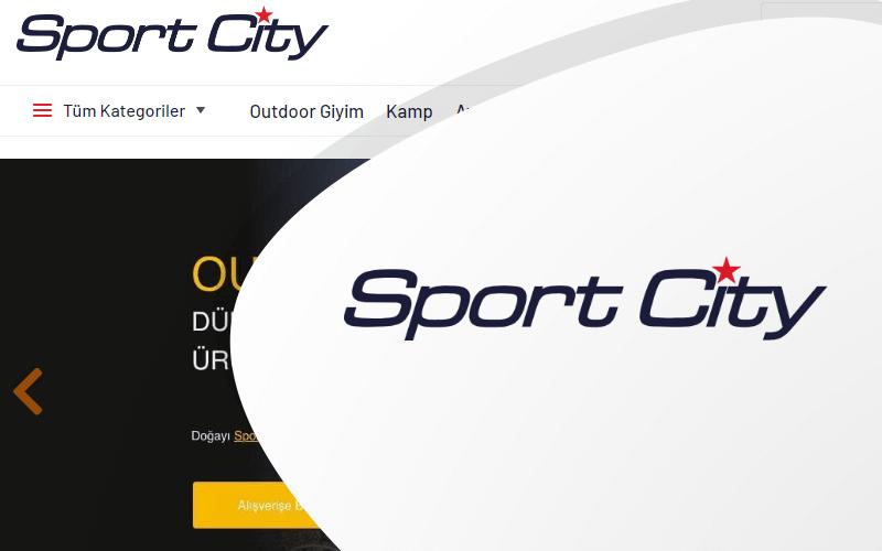 Sport City E-ticaret Sitesi