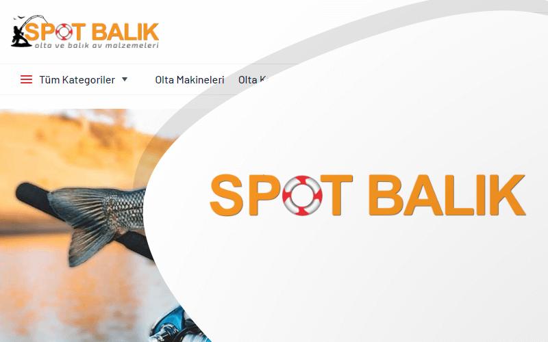 Spot Balık E-ticaret Sitesi