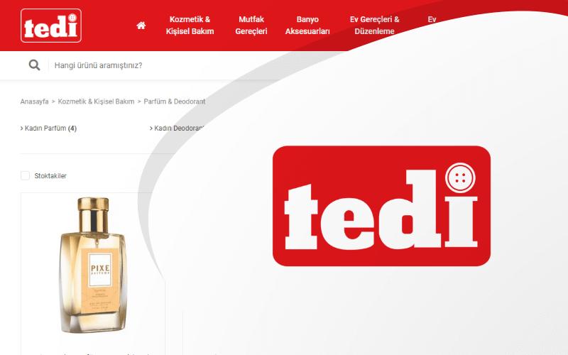 Tedi E-ticaret Sitesi