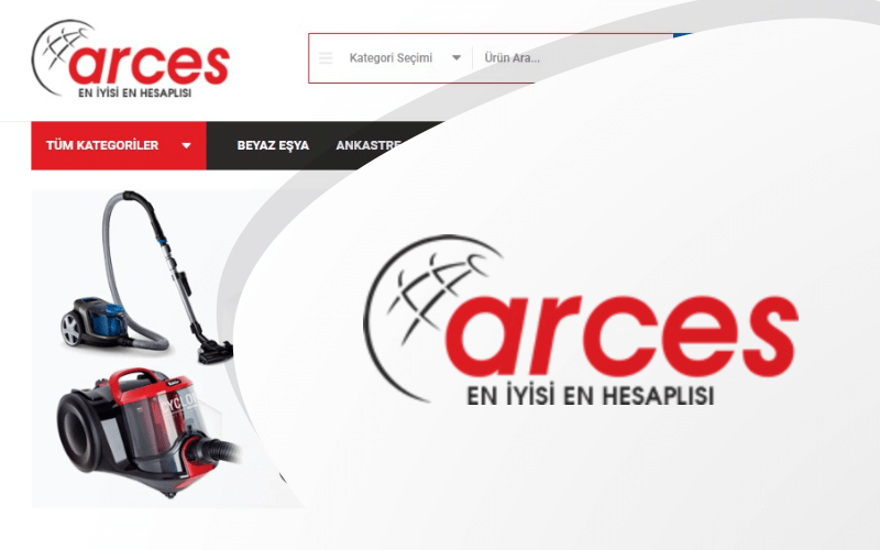 Arces Dtm E-ticaret Sitesi