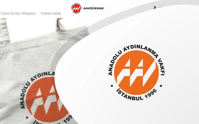 Anadolu Aydınlanma Vakfı E-ticaret Sitesi