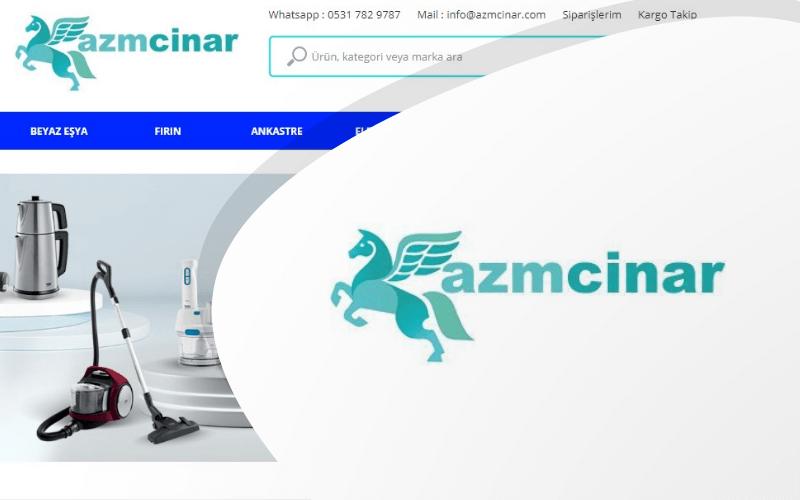 Azm Çınar E-ticaret Sitesi