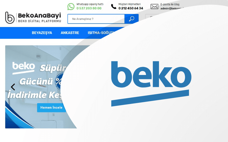 Beko E-ticaret Sitesi