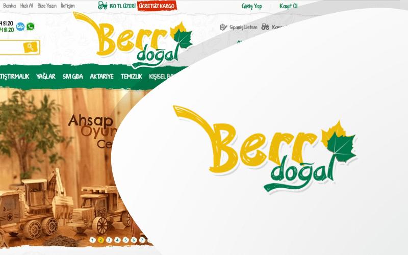 Berr Doğal E-ticaret Sitesi