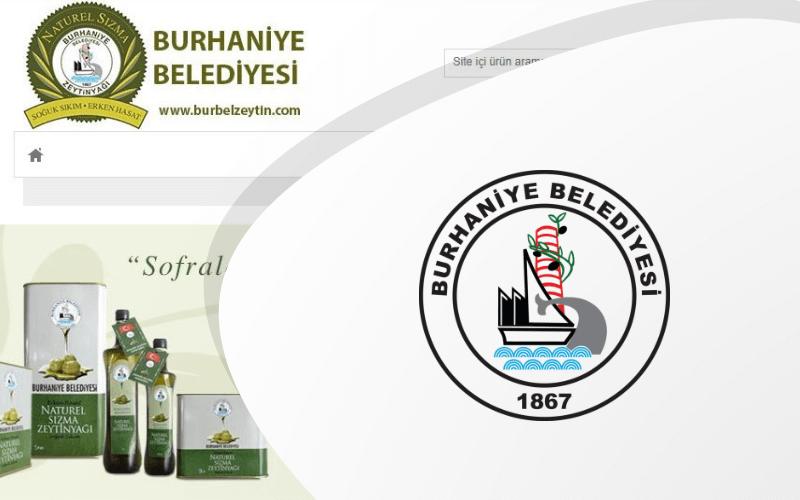 Burhaniye Belediyesi - BURBEL E-ticaret Sitesi