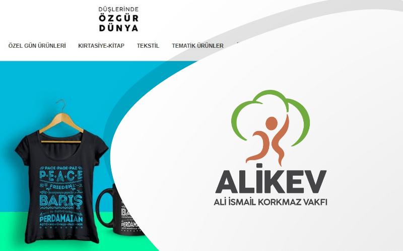 Ali İsmail Korkmaz Vakfı E-ticaret Sitesi