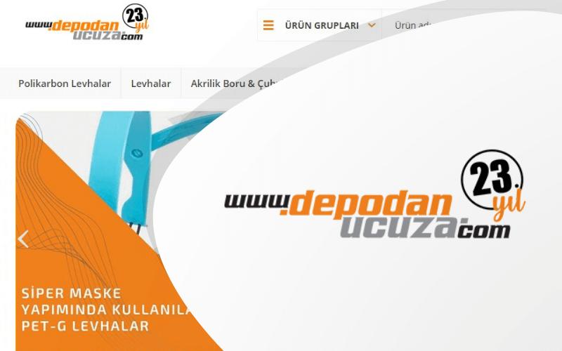 DepodanUcuza E-ticaret Sitesi