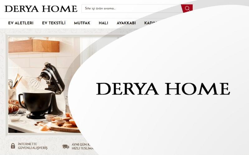 Derya Home E-ticaret Sitesi