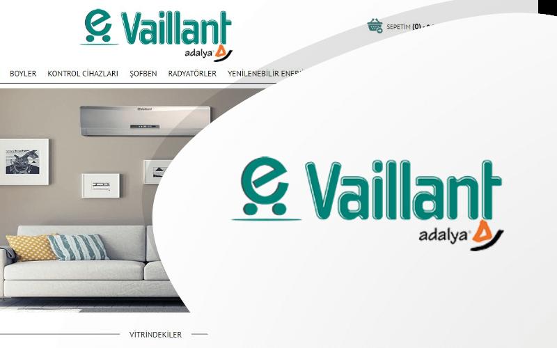 Vaillant E-ticaret Sitesi