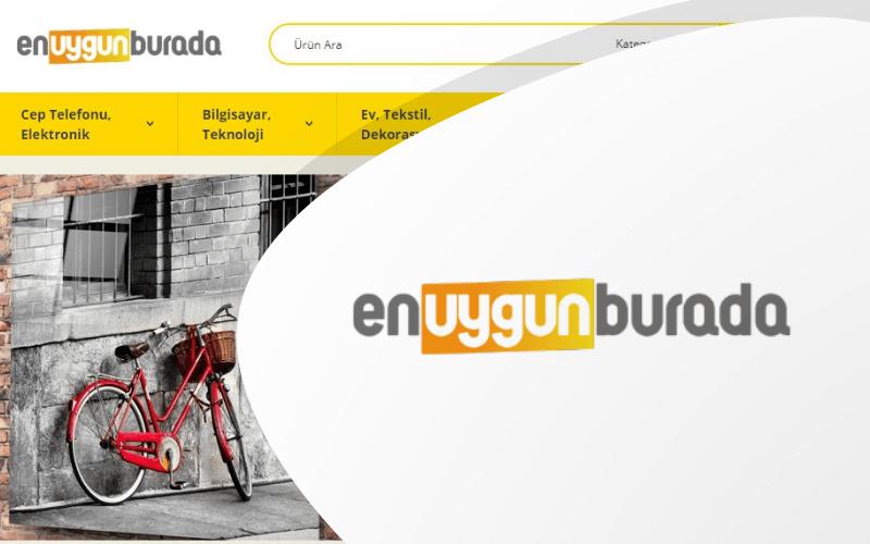 En Uygun Burada E-ticaret Sitesi