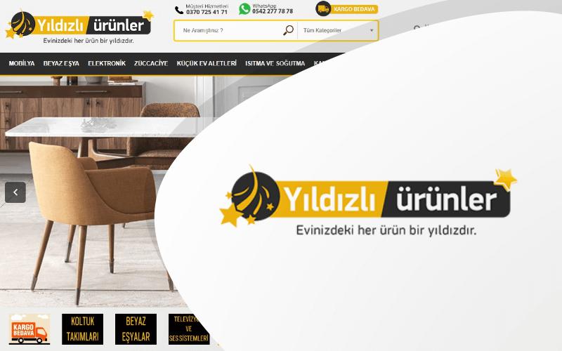 Yıldızlı Ürünler E-ticaret Sitesi